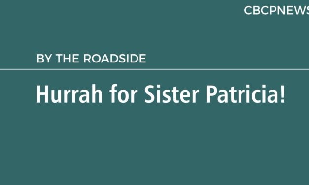 Hurrah for Sister Patricia!