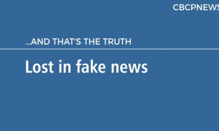 Lost in fake news