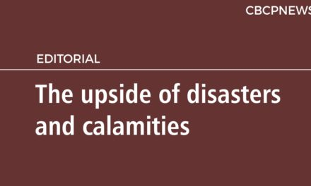 The upside of disasters and calamities
