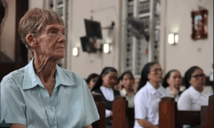 Hundreds attend solidarity Mass for Sr. Pat