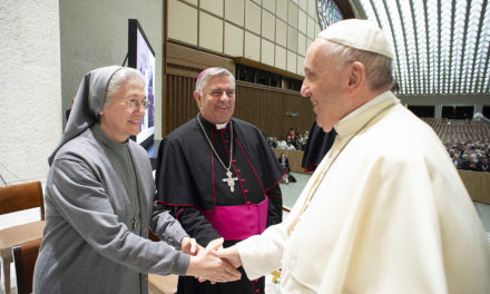 Discern right path with poverty, patience, prayer, pope tells religious