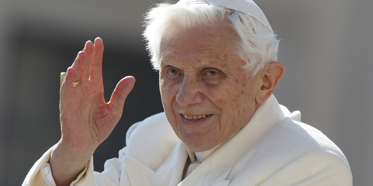 Pope praises retired Pope Benedict's writings on faith, politics