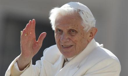 Pope praises retired Pope Benedict's writings on faith, politics