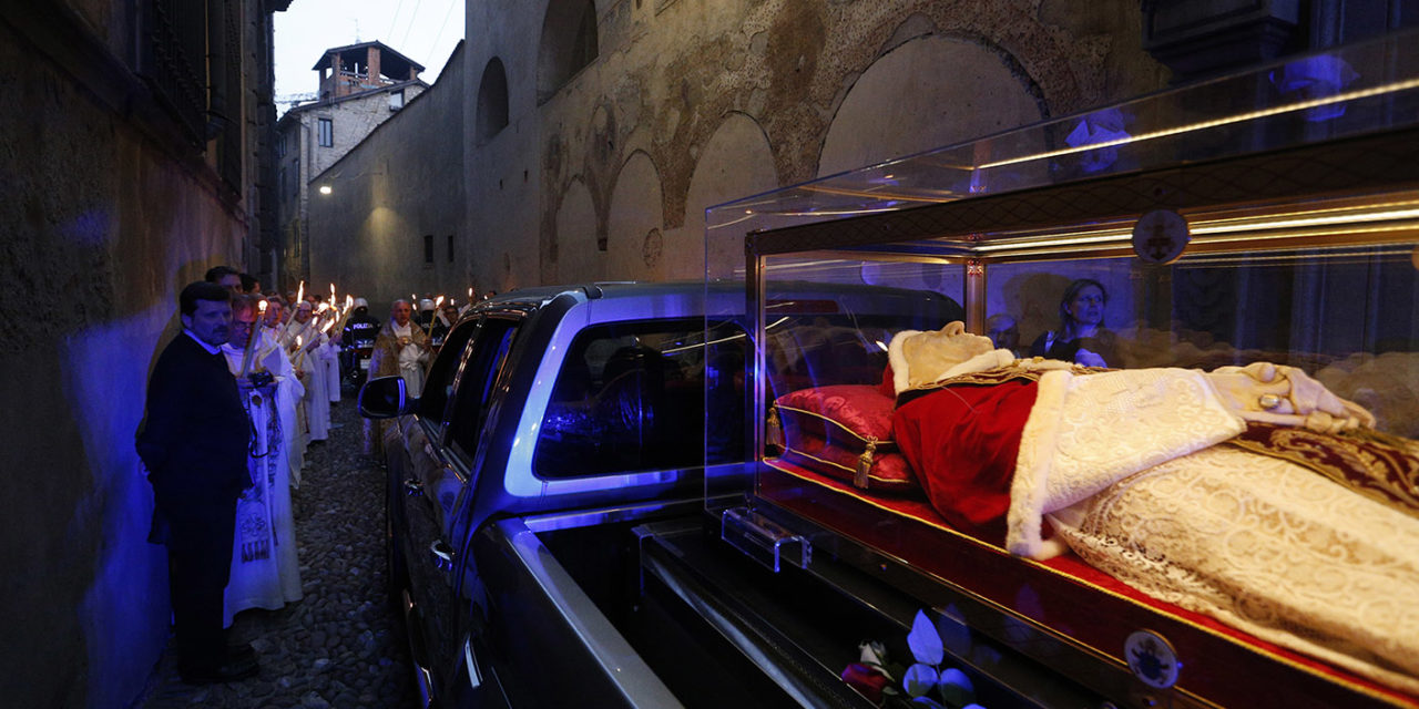 St. John XXIII's body goes on pilgrimage in his homeland