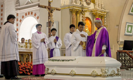 Slain Cagayan priest laid to rest