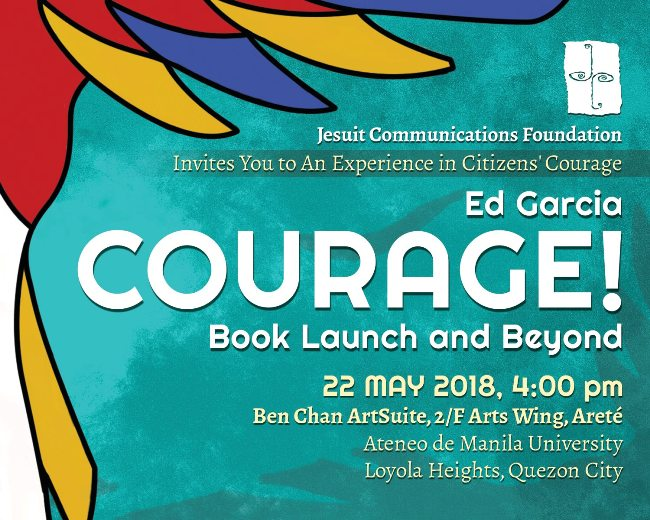 Book on 'courage in public spaces' to be launched