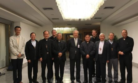 Taiwan's bishops gather at the Vatican for first time in 10 years