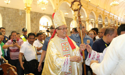 Galbines ordained, installed as bishop of Kabankalan