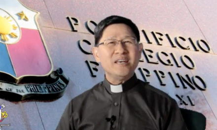 Cardinal Tagle leads 'Collegio Day' celebration, appeals for end to discrimination