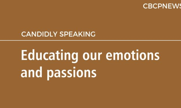 Educating our emotions and passions