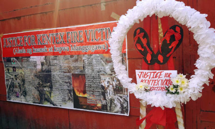 3 years after Kentex tragedy, group renews call for justice, labor reforms