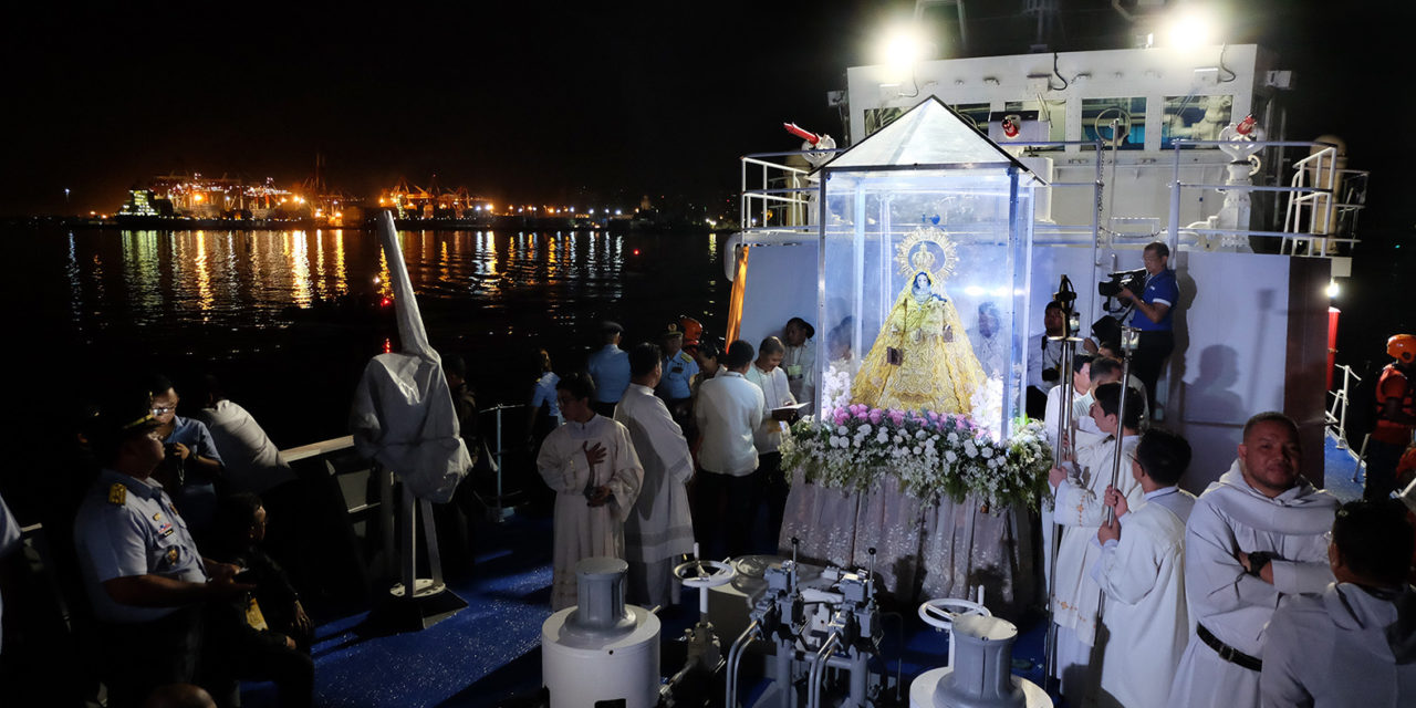 Arrival of Our Lady of Mount Carmel celebrated with fluvial procession