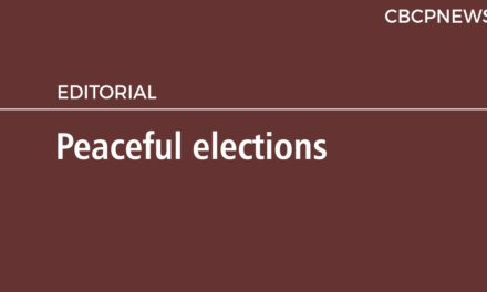 Peaceful elections
