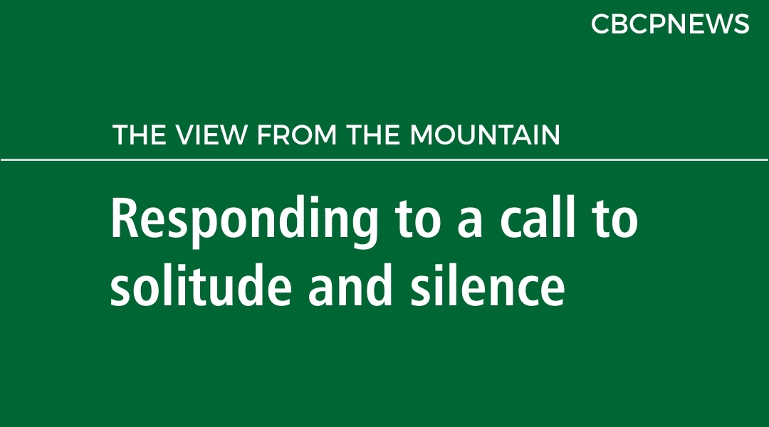 Responding to a call to solitude and silence