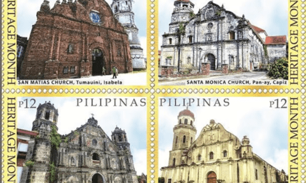 Old churches featured in PHLPost's latest commemorative stamps