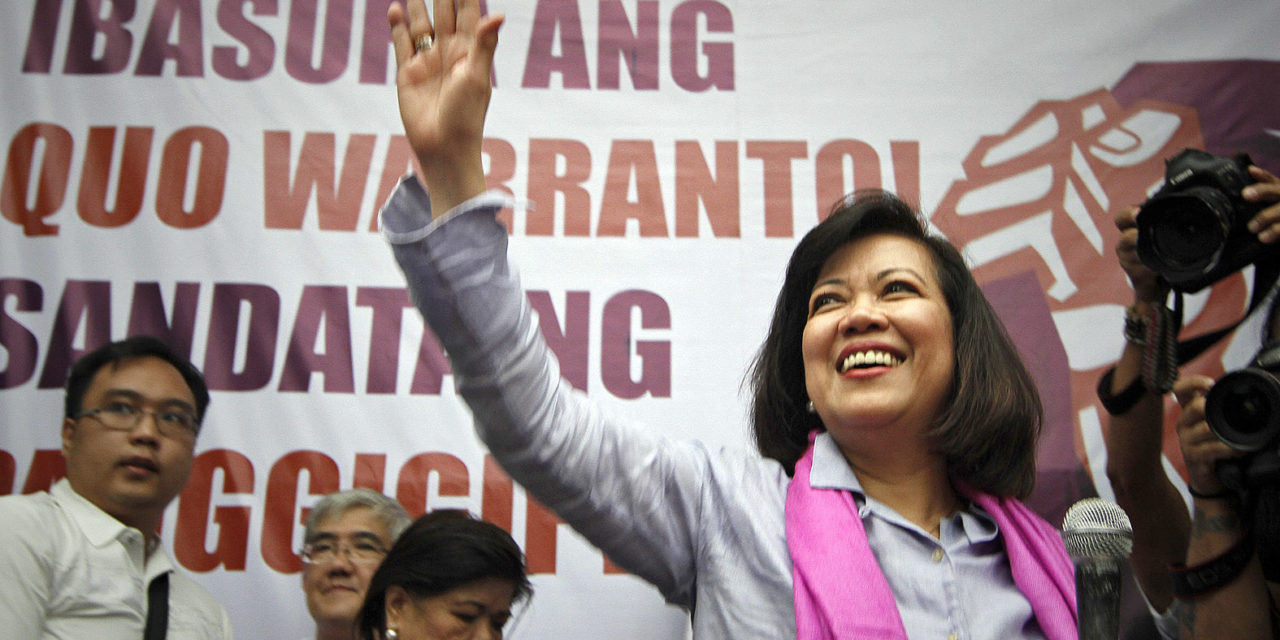 Church official calls Sereno ouster 'mockery'