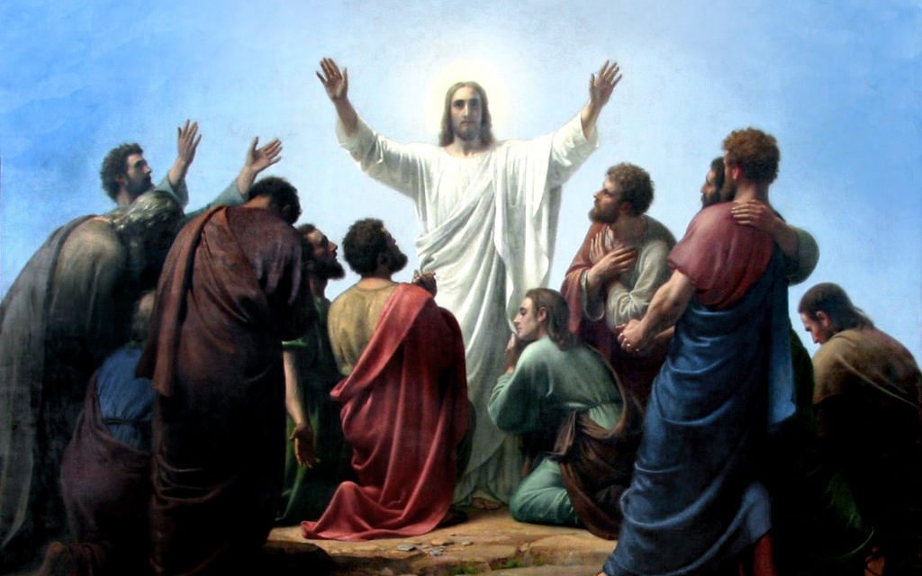 Jesus' Ascension and our witnessing to the faith