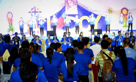 Youth urged: 'Take pride in your faith'