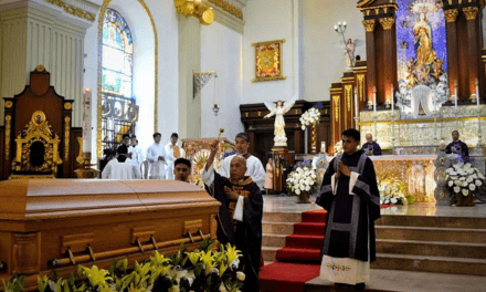 Bishop Oliveros laid to rest