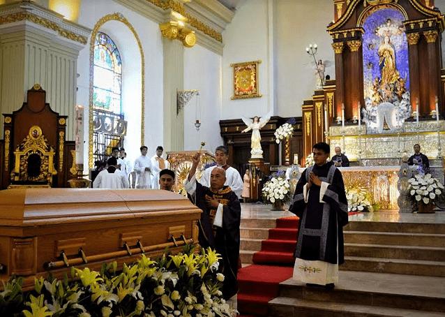 Bishop Oliveros laid to rest