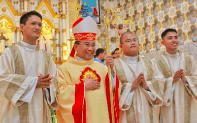 Calbayog bishop shares 3 elements of a 'peaceful life'