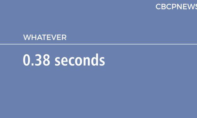 0.38 seconds