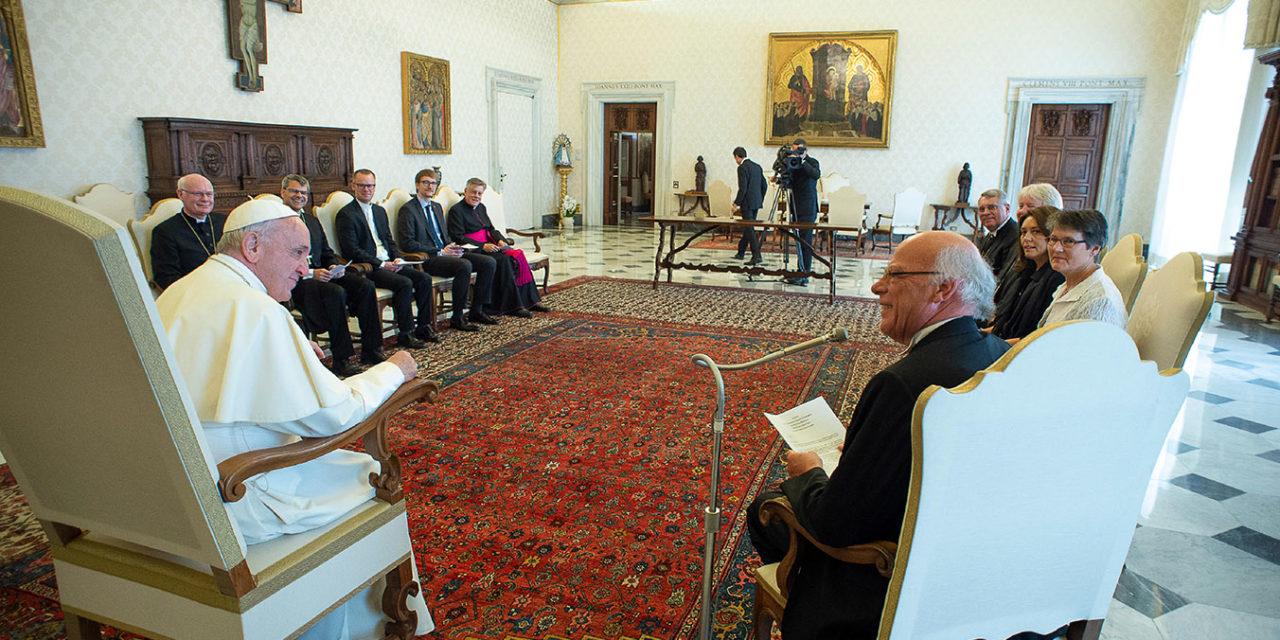 Vatican asks German bishops to set aside plans for Eucharistic sharing