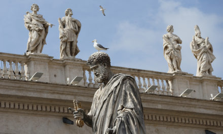 Gossip destroys Holy Spirit's gift of peace, pope says