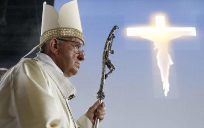 Forgiveness turns evil into good, pope tells Catholics in Geneva