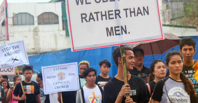 Laguna bishop speaks out against gun-toting priests