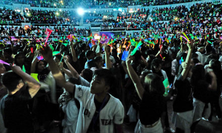 Cardinal Tagle hopes more youth 'catch fire' at event