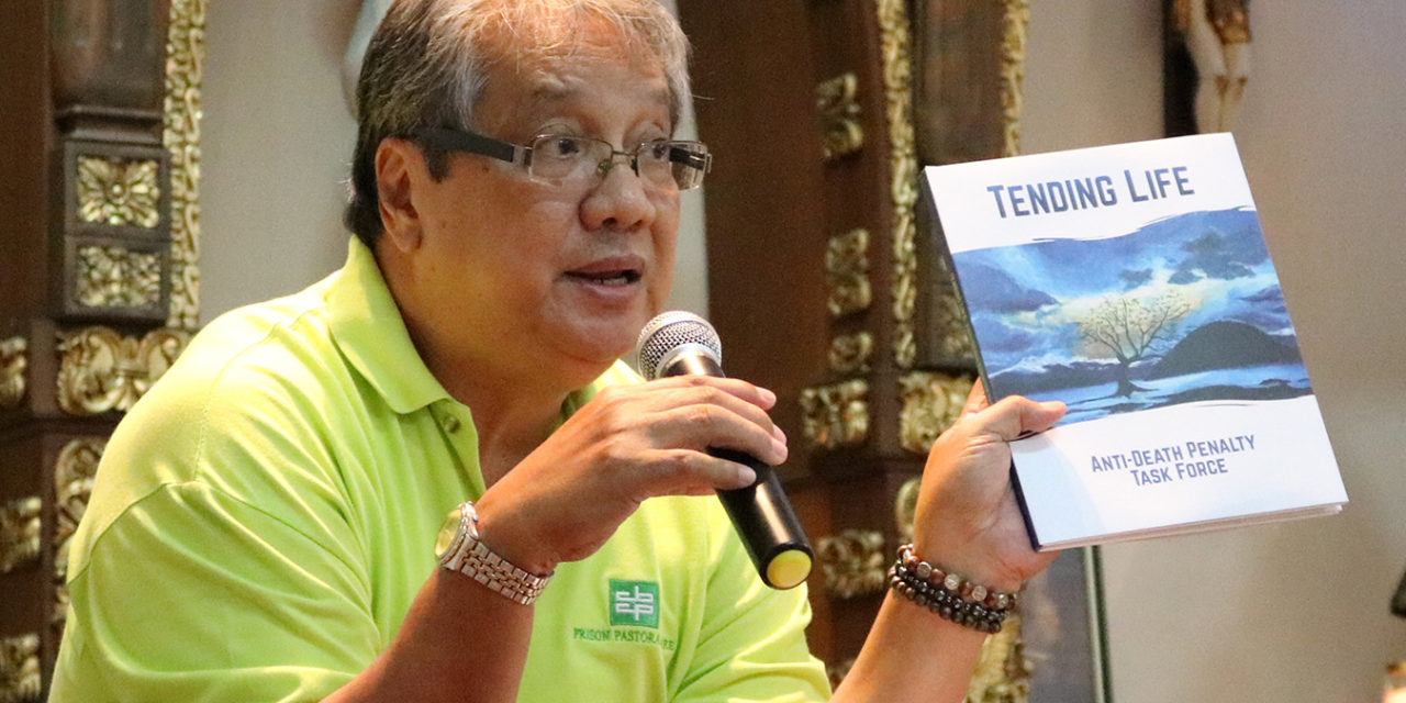 Church exec reiterates opposition to lowering age of criminal liability