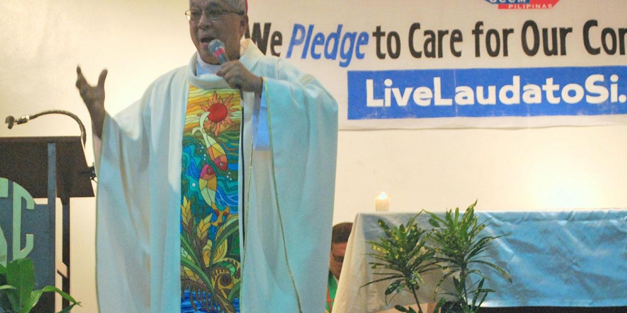 Archbishop calls to bring 'Laudato Si' to life