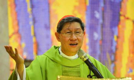 Cardinal Tagle: 'Welcome everyone despite differences'