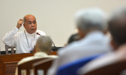 CBCP head presides over plenary meeting