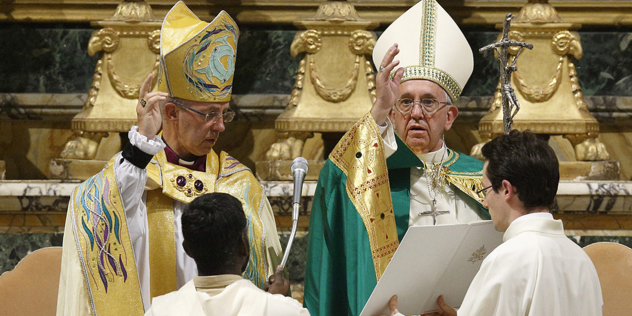 Humble companions: Catholic-Anglican document sees healing in difference
