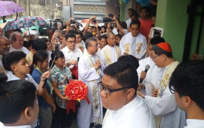 New 5-storey condo for poor blessed