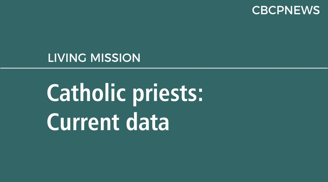 Catholic priests: Current data