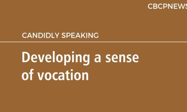Developing a sense of vocation