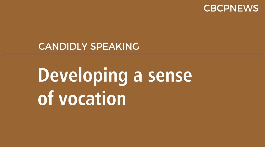 Developing a sense of vocation