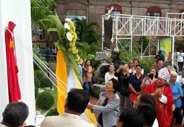 Marker to commemorate 'Apo Badoc' pontifical coronation unveiled
