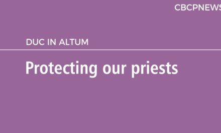 Protecting our priests