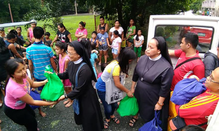 Caritas, parishes reaches out to flood victims