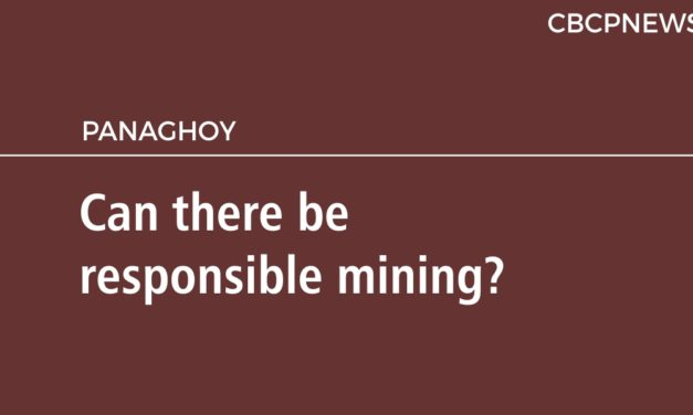 Can there be  responsible mining?