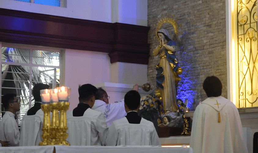 Priest on Assumption feast: 'There's more after death'
