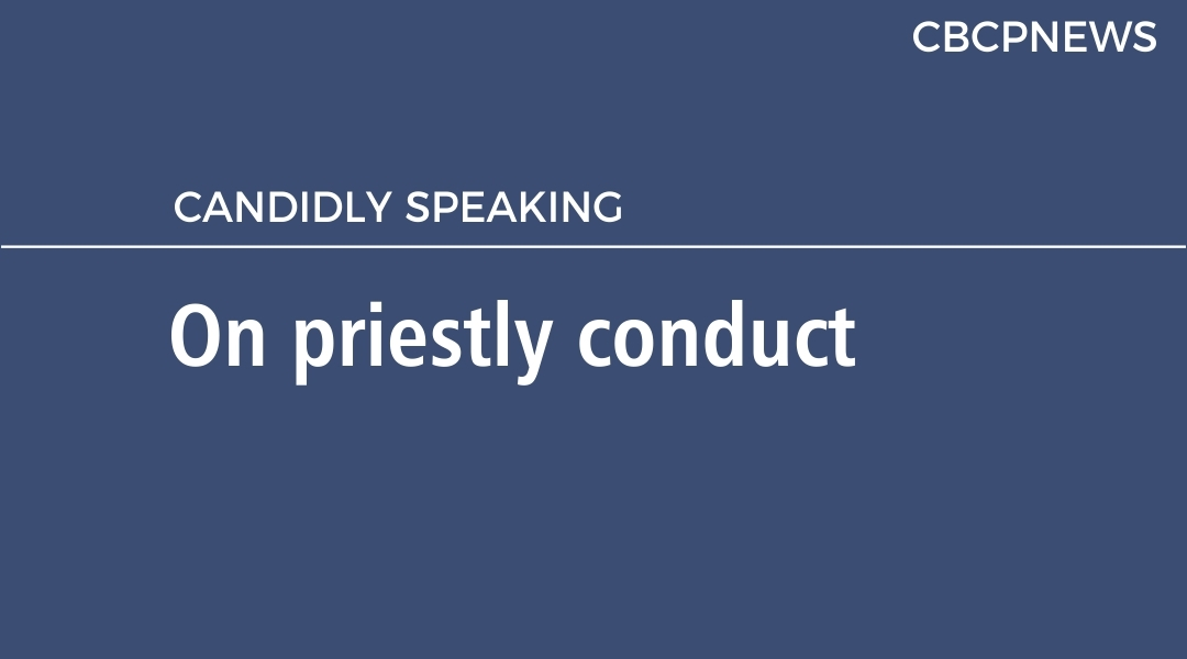 On priestly conduct