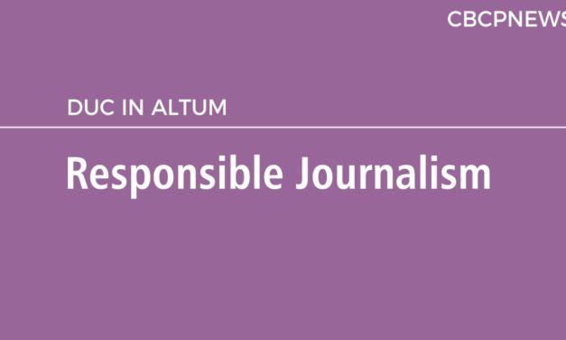 Responsible Journalism