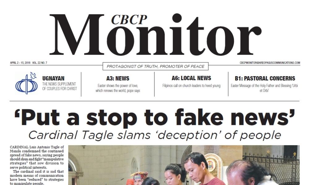 CBCP Monitor Vol 22 No 7