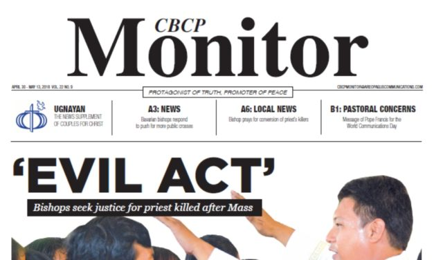 CBCP Monitor Vol 22 No 9