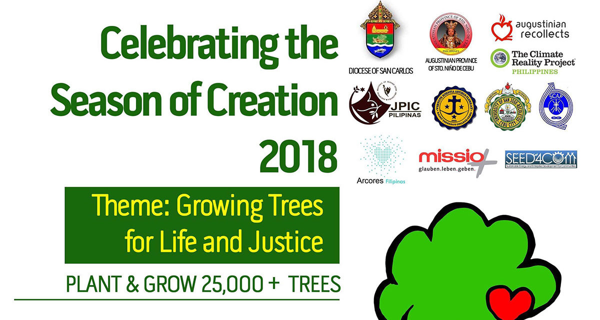 Visayas churches, green groups launch 'Growing 25,000 Trees for Life and Justice'
